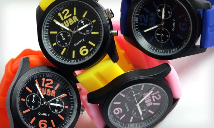 Rubr Unisex and Women's Watches: Rubr Unisex and Women's Watches (Up to 37% Off). 30 Options Available. Free Shipping and Returns.