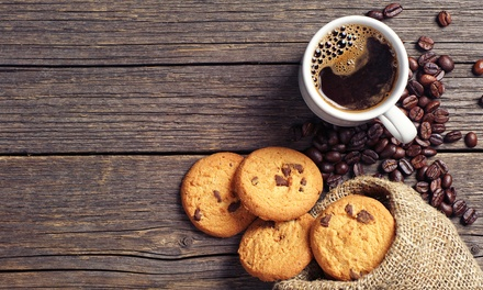 $20 for 12 Caffeinated Chocolate-Chip Cookies at Get Up and Go ($29.99)