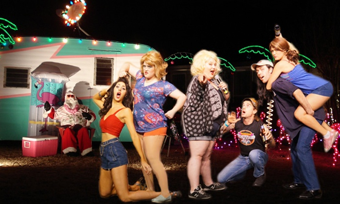 """The Great American Trailer Park Christmas Musical"" - Cameo Theatre: ""The Great American Trailer Park Christmas Musical"" at Cameo Theatre on December 14–January 1 (Up to 50% Off)"