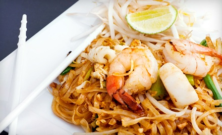 $9.99 for $20 Worth of Thai Food for Two at Thailanding On Alki