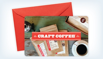 $49.99 for a Three-Month Coffee-Subscription eCard from Craft Coffee ($89.97 Value)