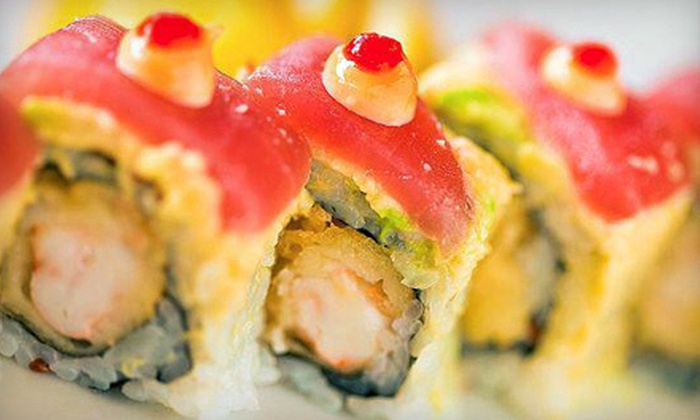 Rock & Roll Sushi - University Park: Japanese Cuisine and Sushi at Rock & Roll Sushi (Half Off). Two Options Available.