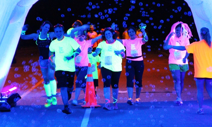The Glo Run - DC - RFK Stadium: $39 for The Glo Run 5K Entry with Energy Upgrade ($65 Value)