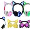 Jamsonic DJ-Style Light-Up Cat-Ear or Panda-Ear Headphones