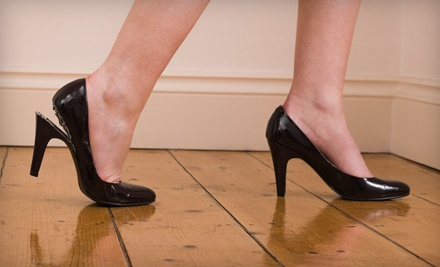 Heel Repair for 2 Pairs of Women's Shoes - Cobblestone Shoe Hospital in Dallas