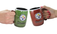 GROUPON: 2-Pack of NFL Sculpted Field Mugs 2-Pack of NFL Sculpted Field Mugs
