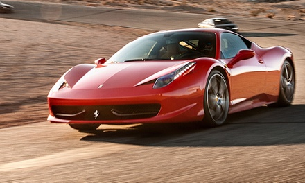 Choose an Exotic Supercar to Ride-Along or Drive on a Professional Racetrack (Up to 59% Off)