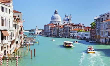 ✈ Venice: 2 or 3 Nights at a Choice of Hotels with Return Flights and Option for Tour*