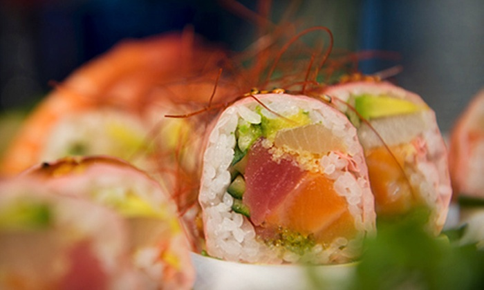 Aji Japanese Restaurant - Minnetonka - Hopkins: Sushi Lunch or Dinner Buffet, or Dinner with Wine for Two or $10 for $20 Worth of Sushi at Aji Japanese Restaurant