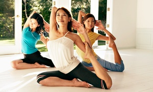 Naturally Yoga: One or Three Months of Unlimited Yoga Classes at Naturally Yoga (Up to 82% Off)