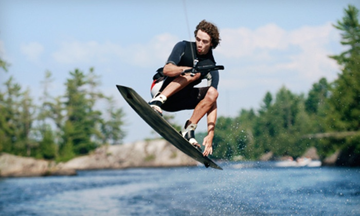 Valley Wake Park - Abbotsford: Two-Hour Wakeboarding Package with a Basic Lesson and Equipment for One or Two at Valley Wake Park (Up to 54% Off)