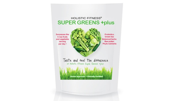 Super Greens Plus Dietary Supplement: $24.99 for a 30-Day Supply of Super Greens Plus Dietary Supplement ($49.99 List Price). Free Shipping.