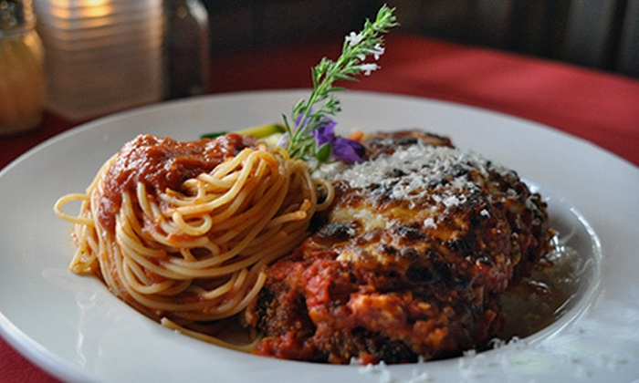 Mazzi's - Southeast Eugene: Italian Cuisine at Mazzi's (Up to 56% Off). Two Options Available.