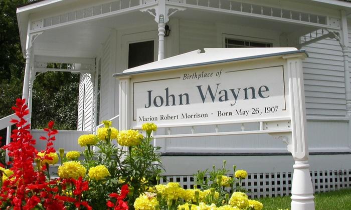 John Wayne Birthplace - Winterset: Admission for Two, Four, or Six at John Wayne Birthplace (50% Off)