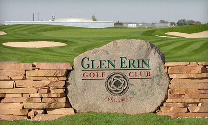 Glen Erin Golf Club - Janesville: Golf Outing with Cart Rental and Hot-Dog Lunch for Two or Four at Glen Erin Golf Club in Janesville (Up to 56% Off)