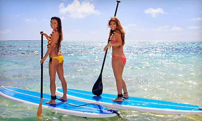 Fairfield Board Company - Fairfield: 60-Minute Standup-Paddleboard Rentals for Two, or Five Rentals from Fairfield Board Company (Half Off)