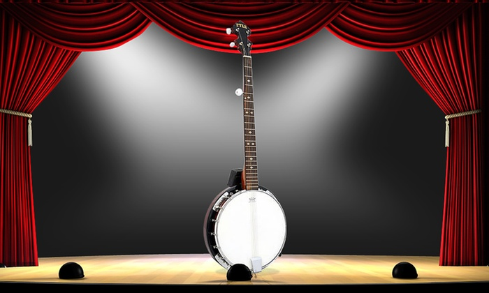 Pyle 5-String Banjo with Chrome-Plated Hardware (PBJ60)