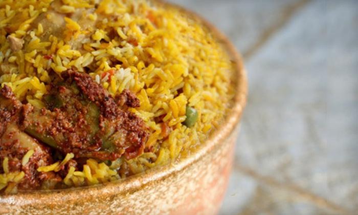 Diya Restaurant, Lounge & Banquet - Vienna: $20 for $40 Worth of Indian Cuisine at Diya Restaurant, Lounge & Banquet in Vienna