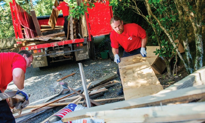 Junk King Pittsburgh - Ohio: $89 for 1/8th Truckload of Junk Removal from Junk King Pittsburgh ($158 Value)