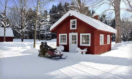 Calming Cabins amid Adirondack Mountains