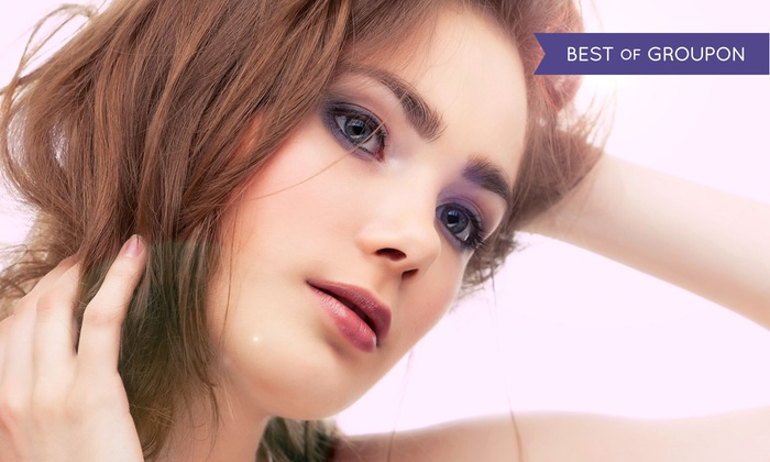 Porcelain Hair Studio - Porcelain Hair Studio: Haircut, Deep Conditioning or Color Treatment, and a Glass of Champagne at Porcelain Hair Studio (Up to 64% Off)