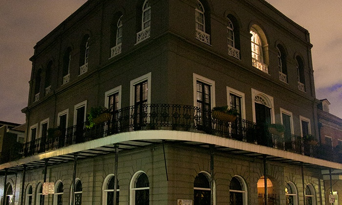 New Orleans Native Tours - French Quarter: Haunted Walking Tour of the French Quarter for Two or Four Adults from New Orleans Native Tours (Up to 51% Off)