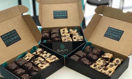 Caja de galletas o brownies desde 9,95 € en GUILTY - Cookie Shop