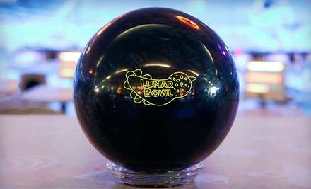2-Hours of Open Bowling for up to Six Including Shoe Rental  - Lunar Bowl in Blue Springs