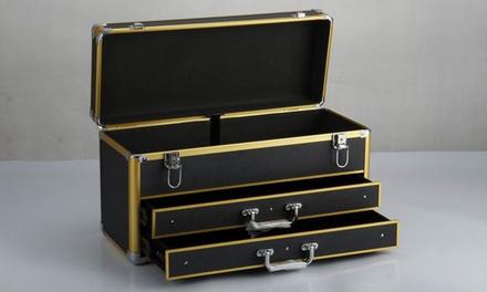 aluminium tool box with drawers