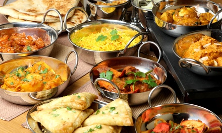 Lunch for Two, Indian Food for Two or Four, or Carryout at OM Fine Indian Cuisine (Up to 50% Off)