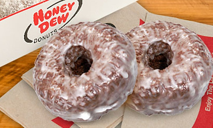 Honey Dew Donuts - Wilmington: Three or Five Groupons, Each Good for One Dozen Donuts at Honey Dew Donuts in Wilmington (Up to 52% Off)