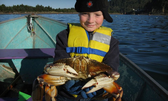 Harborview Inn & RV Park - Garibaldi, OR: One- or Two-Night Stay with Crab-Catching Kit and Chowder at Harborview Inn & RV Park (Up to 49% Off)