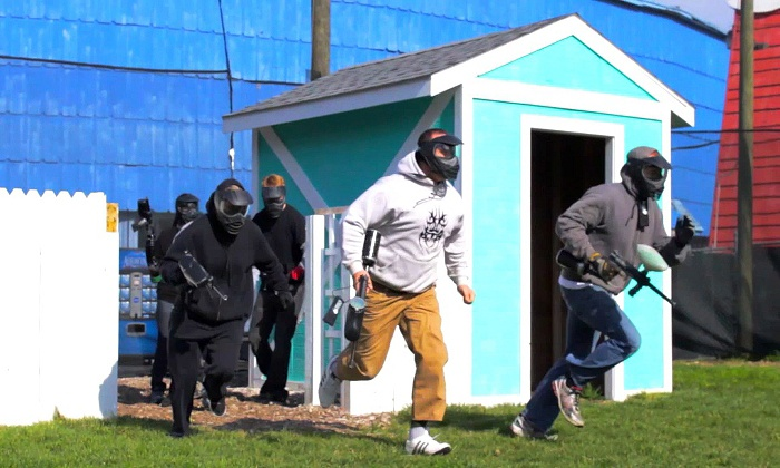 Paintball Explosion - East Dundee: Paintball Outing with Rental Equipment and Paintballs for Two or Four at Paintball Explosion (Up to 66% Off)