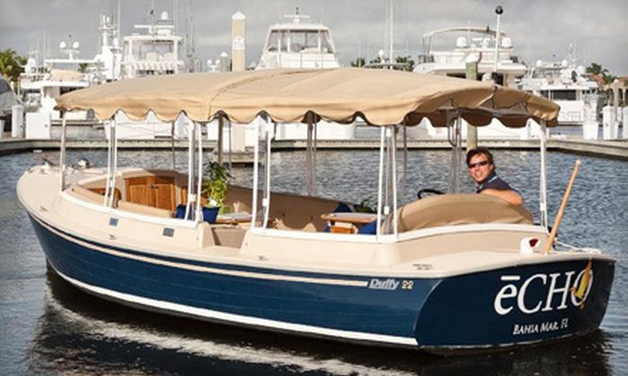 Gondolas West - Bahia Mar Marina: $60 Worth of Boat Tours