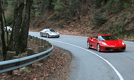 $399 for an Exotic Car Sprint from Club Sportiva ($649 Value)
