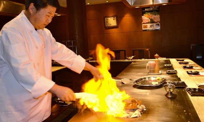 Gyu King Teppanyaki - Gyu King Teppanyaki: 11-Course Japanese Teppanyaki Meal for Two or Four at Gyu King Teppanyaki (Up to 53% Off)