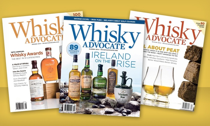 Whisky Advocate Magazine: $9 for a 1-Year Subscription to Whisky Advocate Magazine ($18 List Price). Free Shipping.