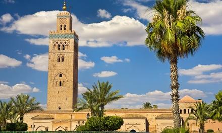 ✈ Marrakech : 3 ou 4 nuits en hôtel 4* avec petit déjeuner et vols A/R au départ de Paris Beauvais ou Marseille