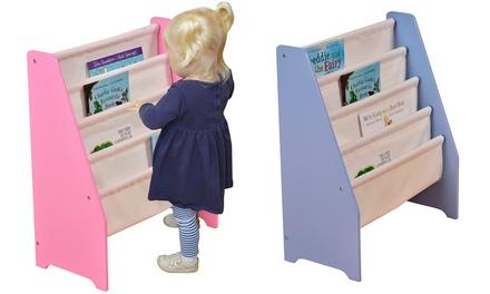 Présentoir à livres en bois pour enfant