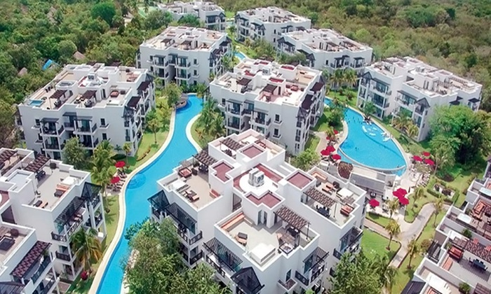 Azul Fives Resort Stay with Airfare - Azul Fives Hotel: 4- or 6-Night All-Inclusive Azul Fives Trip with Airfare. Includes Taxes & Fees. Price Per Person Based on Double Occupancy.