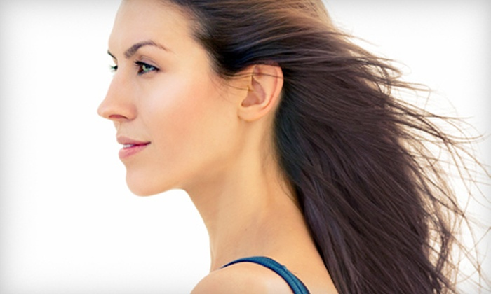 Natalia Rose Salon and Spa - Danbury: Deep Conditioning with Optional Haircut or Style with Highlights at Natalia Rose Salon and Spa (Up to 59% Off)