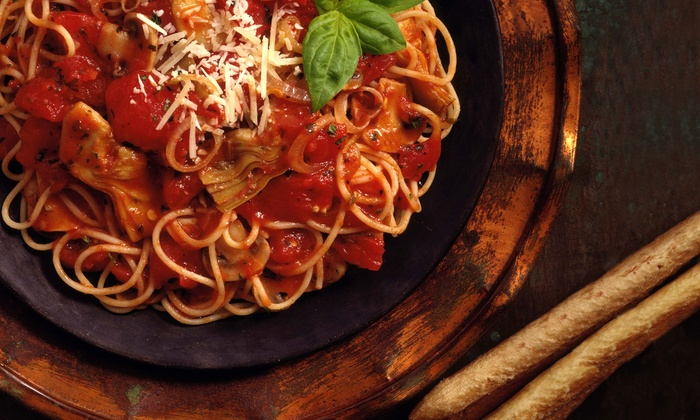 Paper Moon - Georgetown: Italian Cuisine at Paper Moon (Up to 45% Off). Two Options Available.