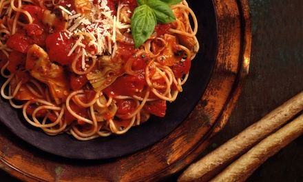 Italian Cuisine at Paper Moon (Up to 45% Off). Two Options Available.
