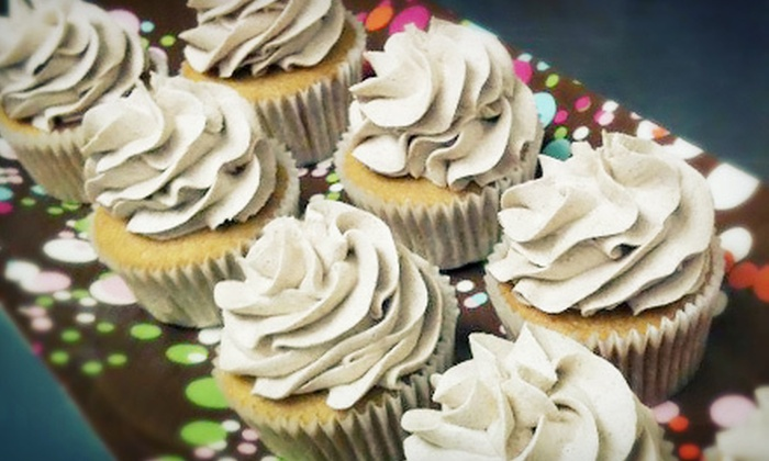 Sugar Diva's Custom Cakes - Mount Holly: Dozen Cupcakes, Cream Horns, Cannolis, or Brownies, or a Party Tray at Sugar Diva's Custom Cakes (Up to 60% Off)