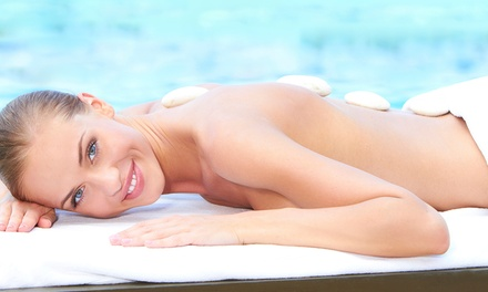 45-Minutes Back Massage with Cleanse and Exfoliation at Natural Beauty (67% Off)