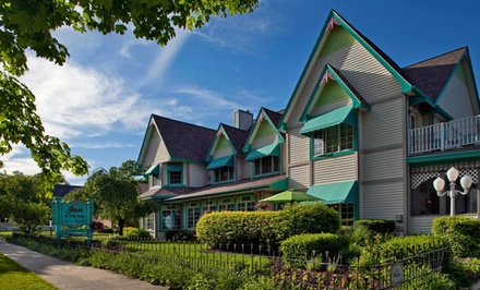 groupon daily deal - 1- or 2- Night Stay for Twowith Wineat Inn at the Park Bed & Breakfast in South Haven, MI