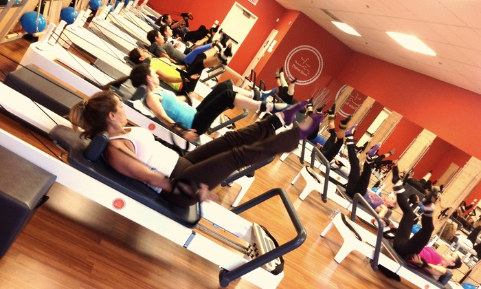 The Pilates Room Studios - Multiple Locations: $29 for 8 Pilates Classes at The Pilates Room Studios ($120 Value)