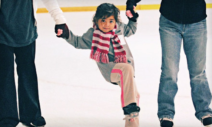 LA Kings Valley Ice Center - Panorama City: Ice-Skating Outing for Two Children or Adults at LA Kings Valley Ice Center in Panorama City (Up to Half Off)