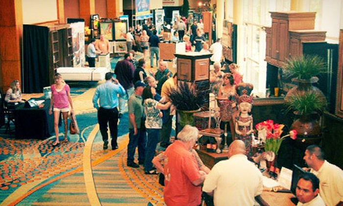 10th Annual Fall Home & Garden Show - The Woodlands: 10th Annual Fall Home & Garden Show for Two on August 25–26 at The Woodlands Waterway Marriott (Up to 56% Off). Two Options Available.