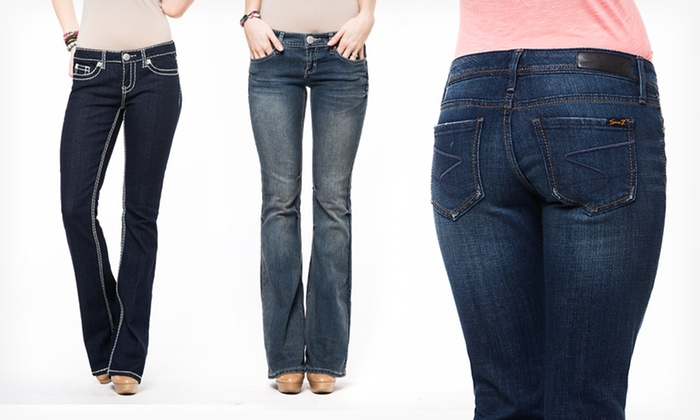 Seven7 Women's Jeans: $29.99 for Seven7 Women's Jeans (Up to $69 List Price). Multiple Sizes and Styles Available. Free Shipping and Returns.